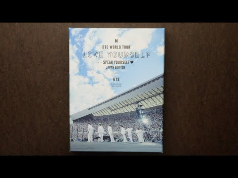 Unboxing | BTS WORLD TOUR 'LOVE YOURSELF: SPEAK YOURSELF' - JAPAN EDITION [BLU-RAY]