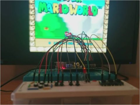 RaspberryPi Breadboard Emulator Controller - [IFB102, 2014]