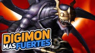 Los Digimon Más Fuertes