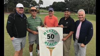 Visiting Group Celebrates 50 Years of Myrtle Beach Golf Vacations