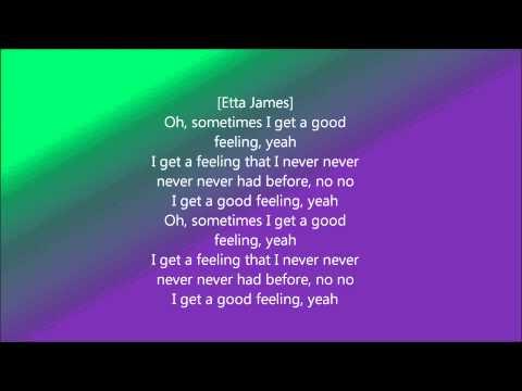 flo rida good feeling lyrics