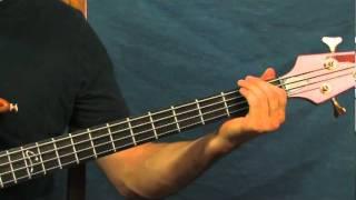 bass guitar lesson evil interpol
