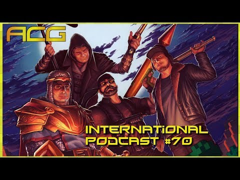 International Podcast #70 Guests Dreamcastguy and Hamish from WritingonGames, Talking About The Biz
