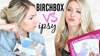 unboxing birchbox vs ipsy   august