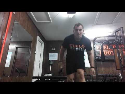 Fuel Fitness Training 5x5 Single Muscle Group Pull