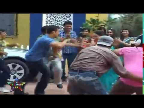 Salman Khan  Does Garba With Daya On  Taarak Mehta Ka Ulta Chasma