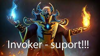 dota 2 mmr - Invoker support Miracle mode