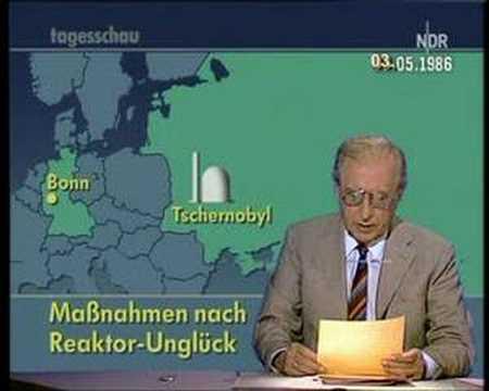 Tschernobyl: radioaktive Wolke über Europa