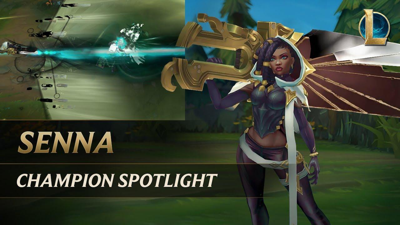 Senna Champion Spotlight | Gameplay - League of Legends