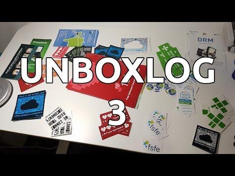 Πακέτο από το Free Software Foundation! - Unboxlog 3 - EverDuzk