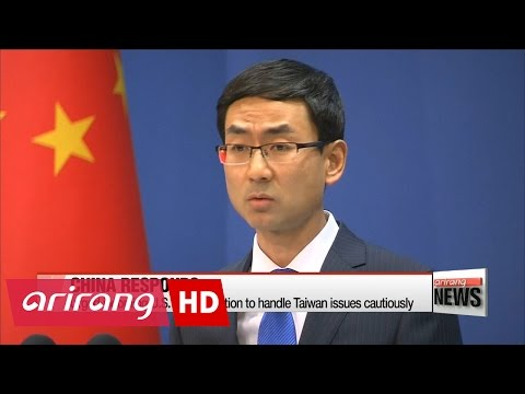 Trump breaks US policy with Taiwan call