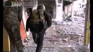военные действия  спринтерская перебежка от смерти Сирия