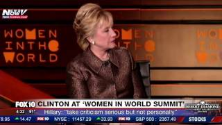 WATCH: Hillary Clinton Asked About Her EMAILS And Bernie Sanders (FNN)