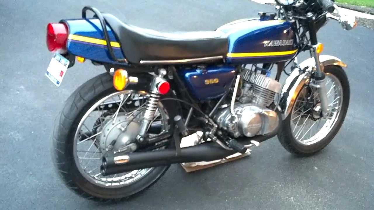 Kawasaki S2 350cc 2 Stroke Triple