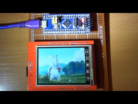 STM32 (Blue Pill) Video Playback from SD