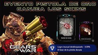Gears of War 4 l Logro Pistola Dorada y Canjeando Recompensa de forma FÁCIL l 1080p