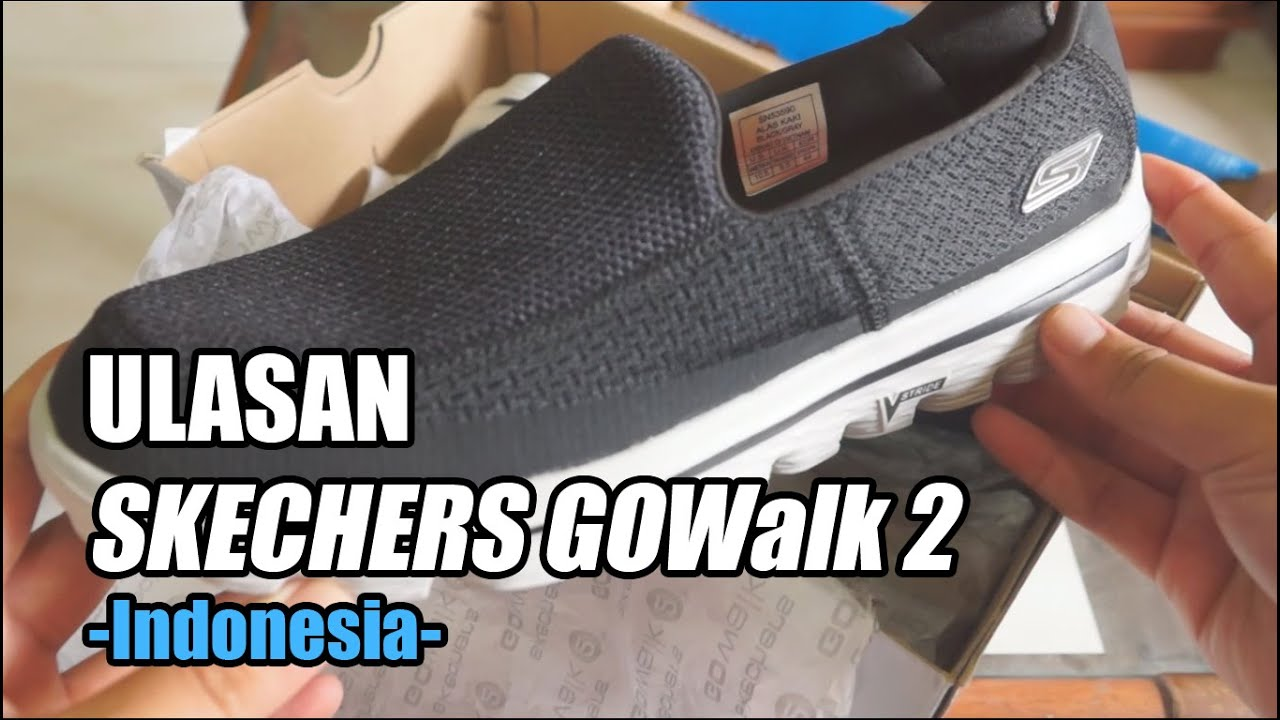 BUKADUS Skechers GOWalk 2 - Ulasan (Indonesia) - YouTube 2119c28cb0