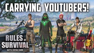 CARRYING NOAH, 7WORLDS, & DIGIT - Rules of Survival: Battle Royale