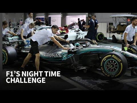 How deep sleep keeps Mercedes F1 on top