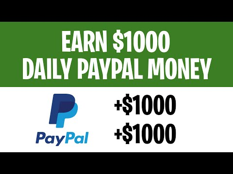 Earn PayPal Money FAST ($1000+) IN 2021 | Make Money Online