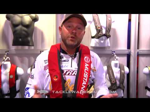 Mustang Elite Hydrostatic Life Jacket With Mike Mclelland | ICAST 2014