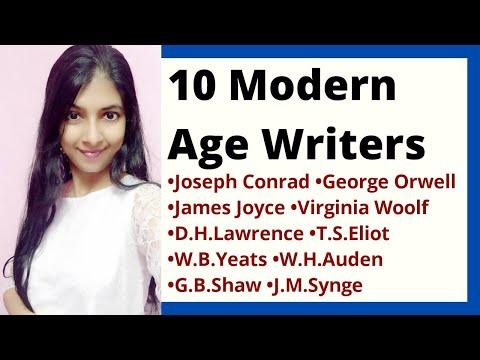 Modern Age Writers | Birth of Modern Literature | History of English Literature