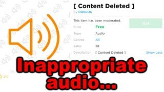 Roblox uploaded some pretty bad audios