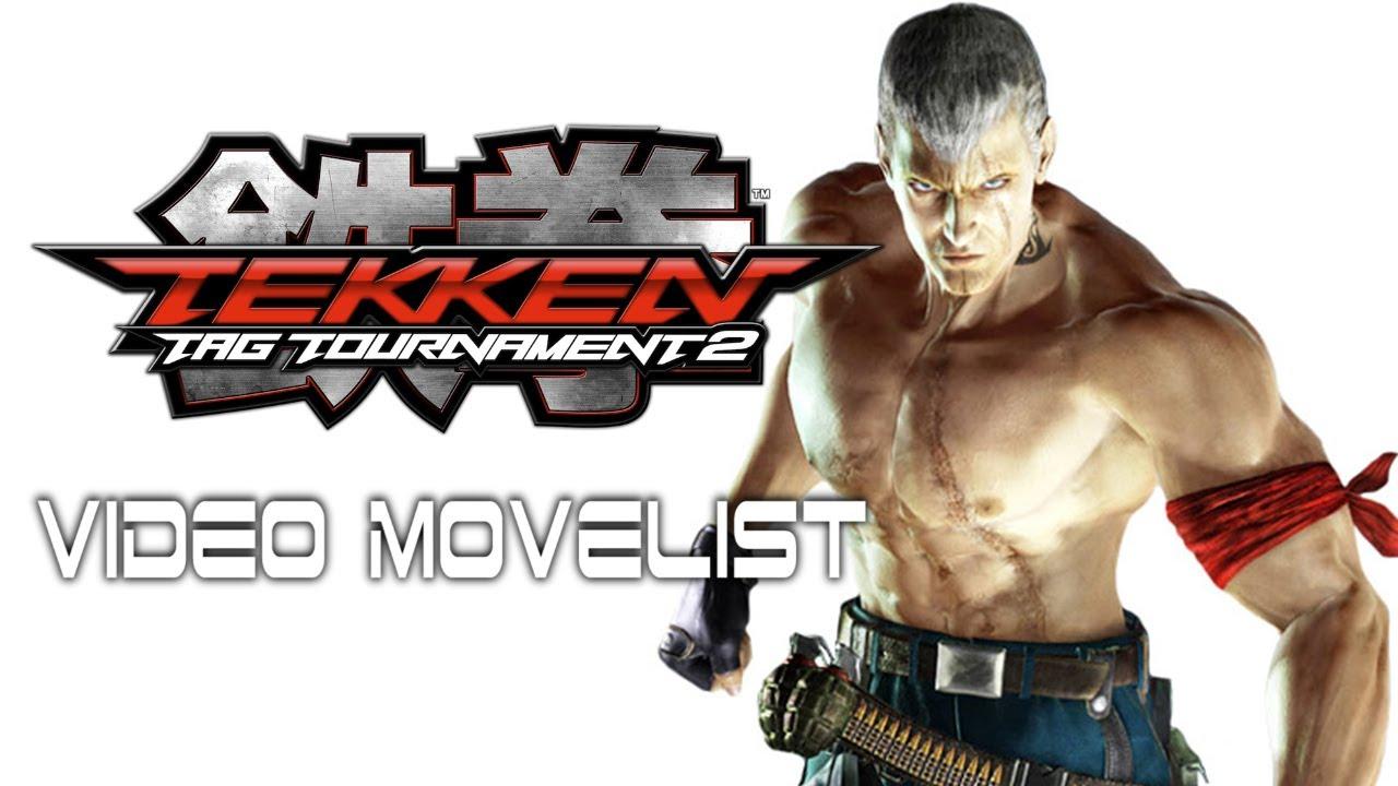 Tekken Tag Tournament 2 Bryan Video Movelist Youtube