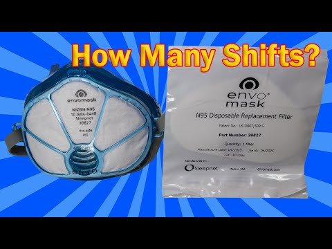 How Many Times Can You Use an Envo Mask N95 Filter? | Solved!