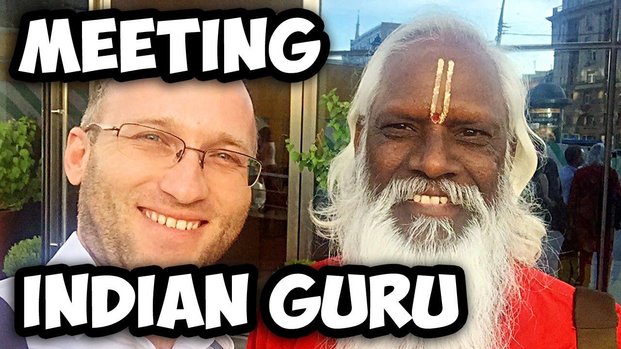 Indian Guru Meeting In The Big City Afonya Tv Dnevnik Hacha Youtube