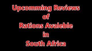 Upcomming Ration Reviews