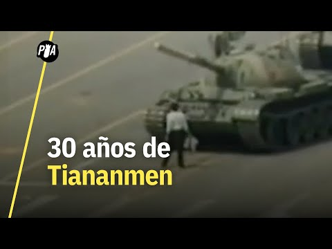 ¿Quién era el 'hombre del tanque' en las protestas de Tiananmen?