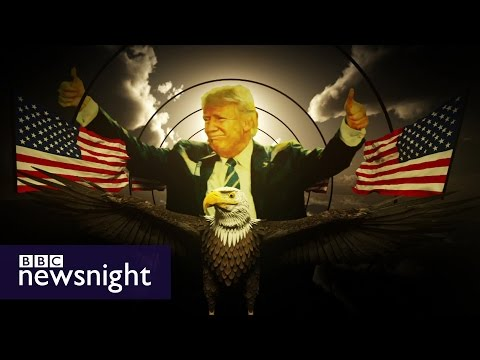 Viewpoint: The 'delicious spectacle' of President Trump - BBC Newsnight