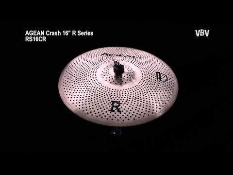 "16"" Crash R Series - Silent Cymbal video"