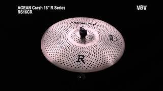 "Crash 16"" R Series - Silent Cymbal vidéo"