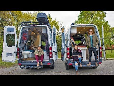Van Life Tour | Ultimate Off-Grid Sprinter Van Conversion | Scott Adamson X Eamon & Bec