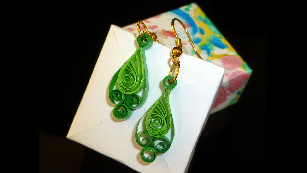 Quilling Paper Earrings Latest Design Quilling Paper