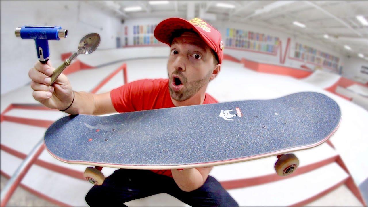 I FINALLY BUILT A NEW SKATEBOARD!