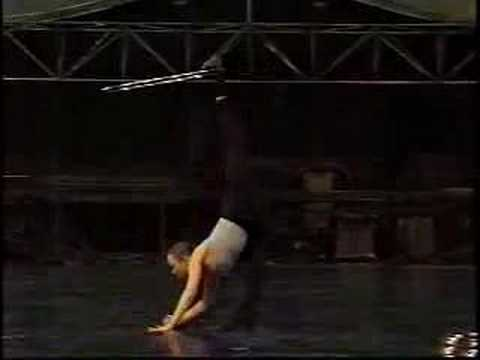 ELENA LEV CONTORTION WITH HULA-HOOPS - YouTube