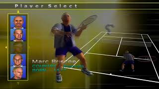 Agassi Tennis Generation [PS2] Games in Memories