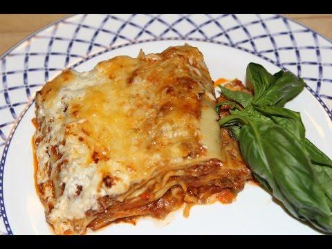 lasagne-maison