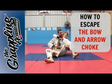 HOW to ESCAPE the BOW and ARROW Choke - Every time!