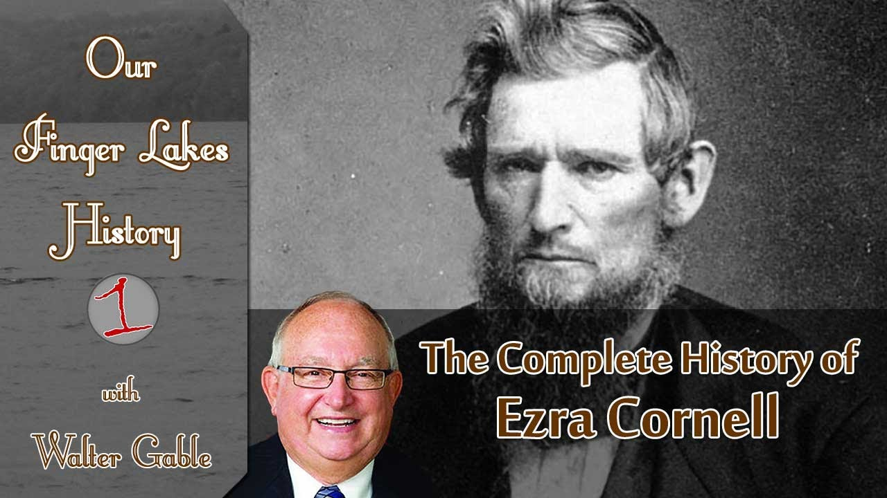 Ezra Cornell .::. Our Finger Lakes History
