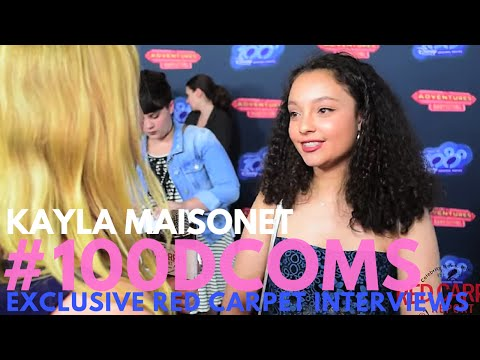 "Kayla Maisonet #StuckintheMiddle interviewed at Screening for ""Adventures in Babysitting"" #100DCOMs"