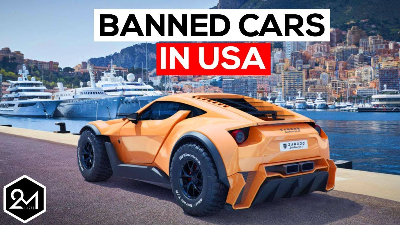 Top 10 Exotic Cars We\'re Not Allowed To Have In America - Banned ...