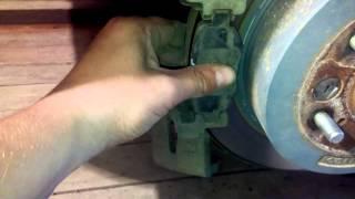 Замена задних тормозных колодок Chery Tiggo FL