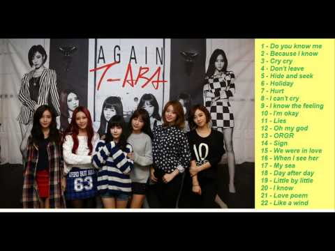 T- ARA 티아라 ll Collection the best ballad song