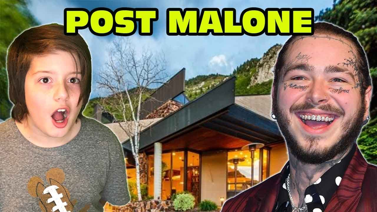 Kid Runs Away To Post Malone's House To Party! - BUSTED!