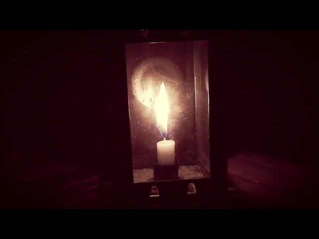 Kerze Zeitraffer