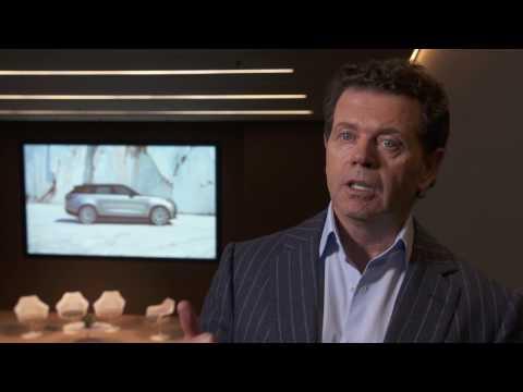 Range Rover Velar - Interview with Gerry McGovern | AutoMotoTV